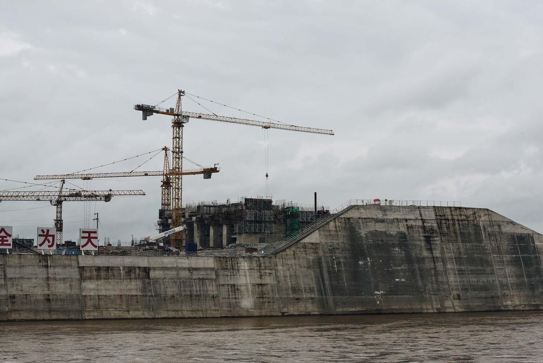 Samdor Dam Construction