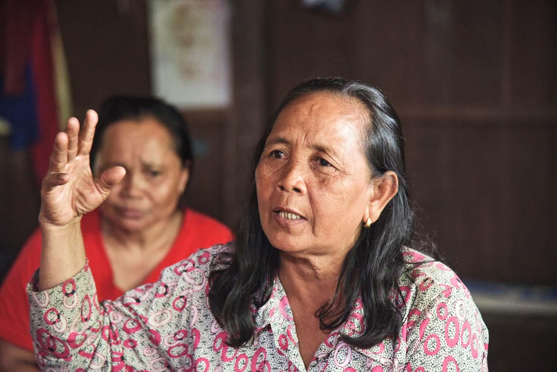 Local citizen voices concerns